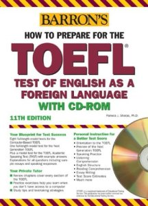 دانلود رایگان کتاب Barron's How to Prepare for the TOEFL with CD-ROM, 11th Edition